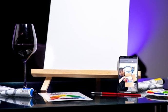 Pinot & Picasso Virtual Sessions