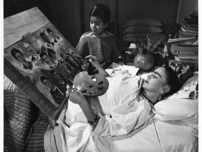 Kahlo created most of her masterpieces in bed.
