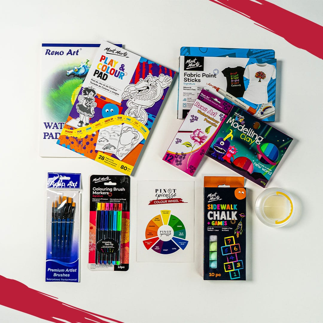 P&P Creative Kids Art Box